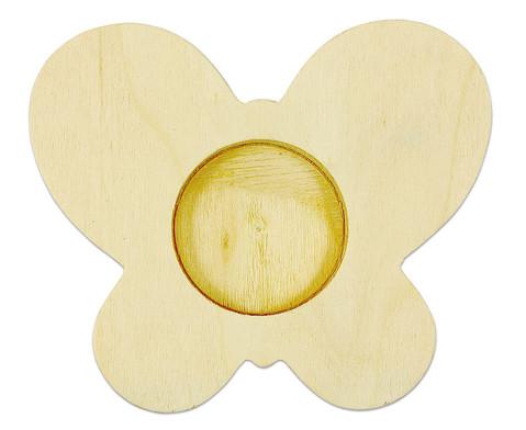 Teelichthalter Schmetterling 3er Set-2