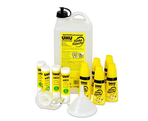 UHU Klebstoff- Vorratspackung 13-tlg
