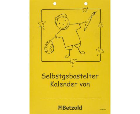 Blanko Kalender 10er Set-3