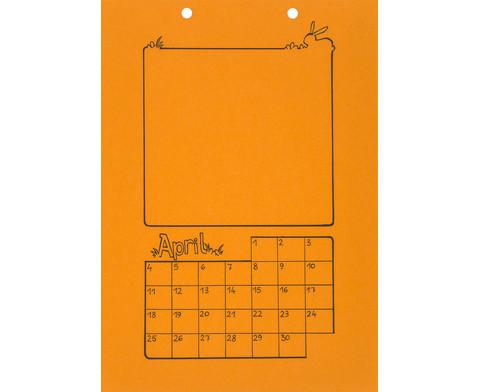 Blanko Kalender 10er Set-4