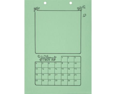 Blanko Kalender 10er Set-5