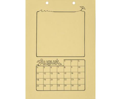 Blanko Kalender 10er Set-6