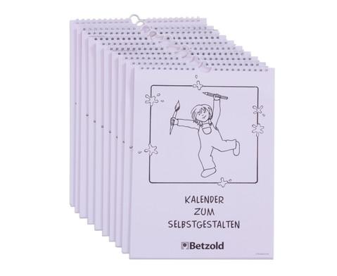Kalender zum Selbstgestalten 10er-Set-3