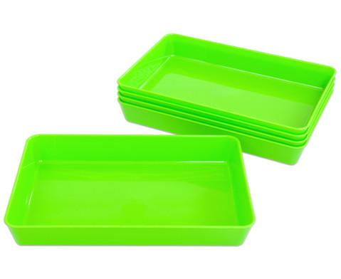 Materialschalen klein 5 Stueck in einer Farbe-5