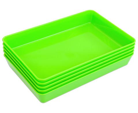 Materialschalen klein 5 Stueck in einer Farbe-6