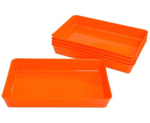 Materialschalen klein 5 Stueck in einer Farbe-13