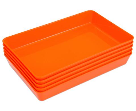 Materialschalen klein 5 Stueck in einer Farbe-14