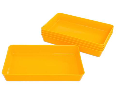 Materialschalen klein 5 Stueck in einer Farbe-21