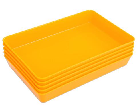 Materialschalen klein 5 Stueck in einer Farbe-22