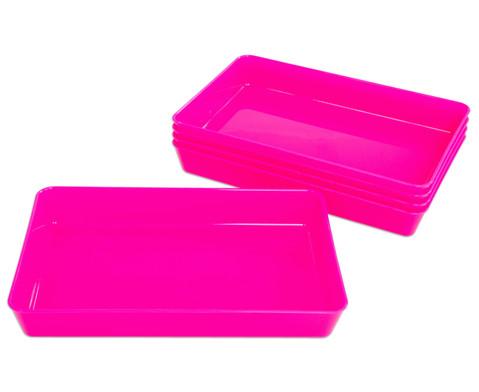 Materialschalen klein 5 Stueck in einer Farbe-17