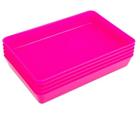 Materialschalen klein 5 Stueck in einer Farbe-18