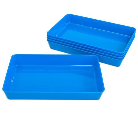 Materialschalen klein 5 Stueck in einer Farbe-9