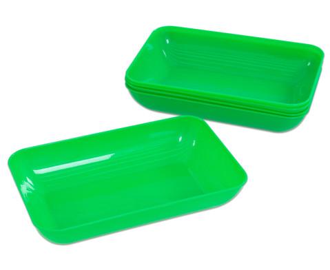 Materialschalen gross 5 Stueck in einer Farbe-15