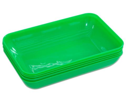 Materialschalen gross 5 Stueck in einer Farbe-17