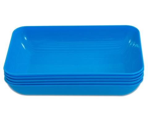 Materialschalen gross 5 Stueck in einer Farbe-12