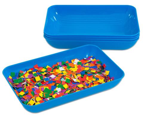 Materialschalen gross 5 Stueck in einer Farbe-14