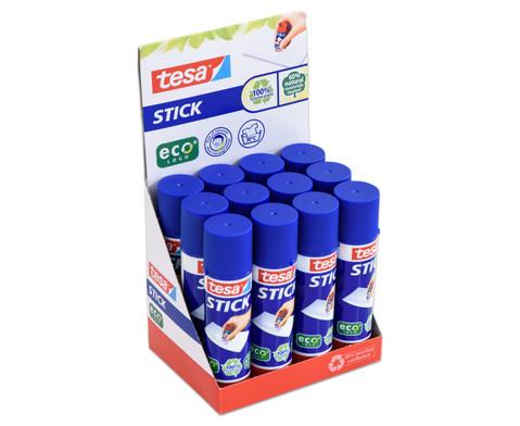 tesa  Sticks ecoLogo 12 Stueck im Aufsteller-2