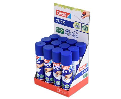 tesa  Sticks ecoLogo 12 Stueck im Aufsteller-3