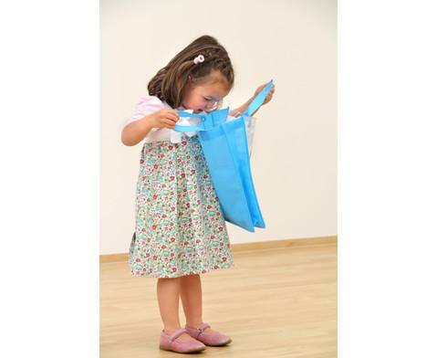 Tasche A4 Hochformat blau-9