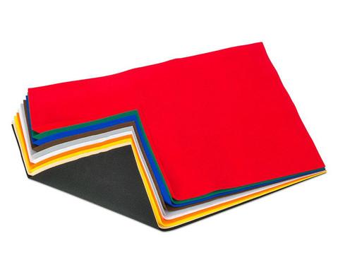 10 Bogen Bastelfilz in 10 Farben-1