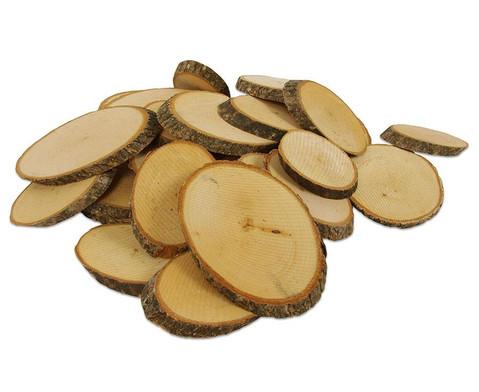 Naturholzscheiben 1 kg-4