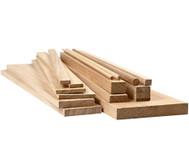 Holzstücke, 194 Stück