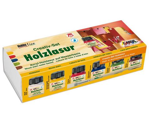 Holzlasur Creativ-Set mit Acryl-Holzlasur-1