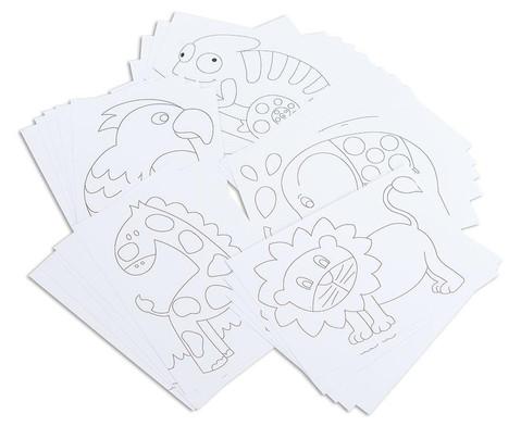 Tiermotiv-Karten 25 Stueck DIN A5-1