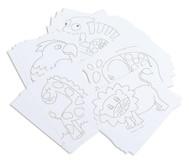 Tiermotiv-Karten, 25 Stück, DIN A5