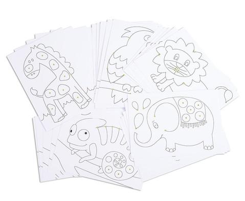 Chenilledraht-Karten-1