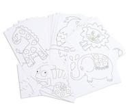 Chenilledraht-Karten