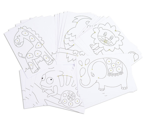 Chenilledraht-Karten 25 Stueck-1