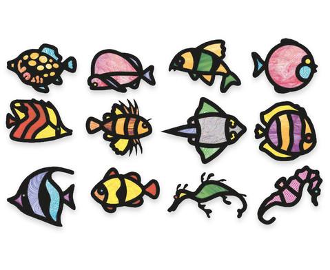 Fensterbilder Fische