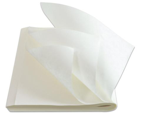 Fliesspapier rechteckig