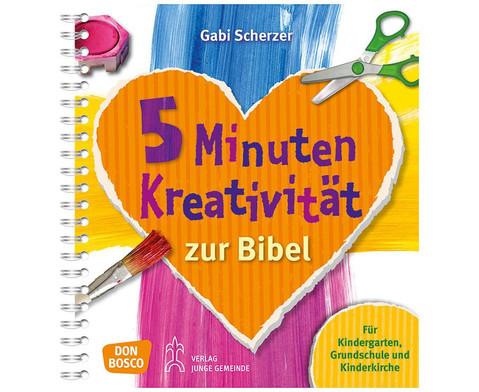 5 Minuten Kreativitaet zur Bibel