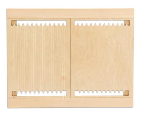 Holzwebrahmen fuer die Wand-4