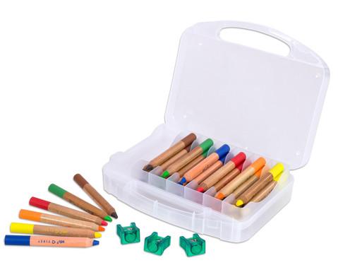 Buntstifte First 36 Stueck im Kunststoffkoffer