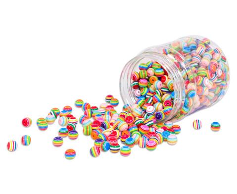 Streifen-Perlen rund 500 g-1