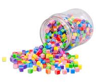 Streifen-Perlen, eckig 500 g