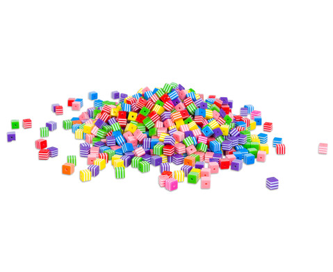Streifen-Perlen eckig 500 g-2