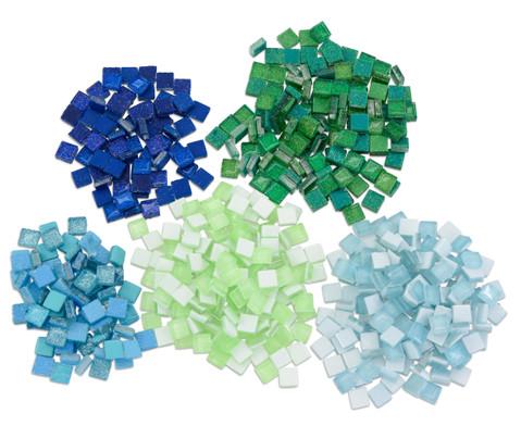Mosaiksteine Softglas nachtleuchtend  glitter-1