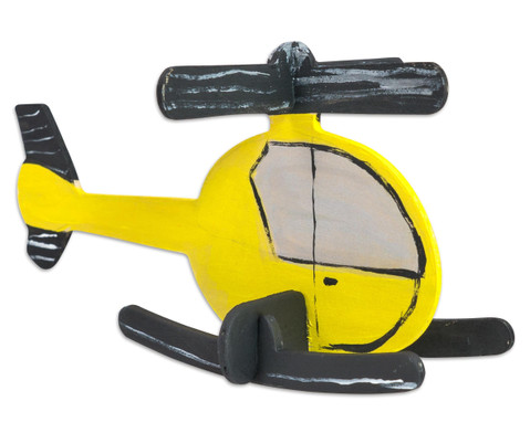 Holz-Bausatz  Hubschrauber und Flugzeug-5