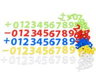 Filz-Zahlen, selbstklebend, 150 Stück