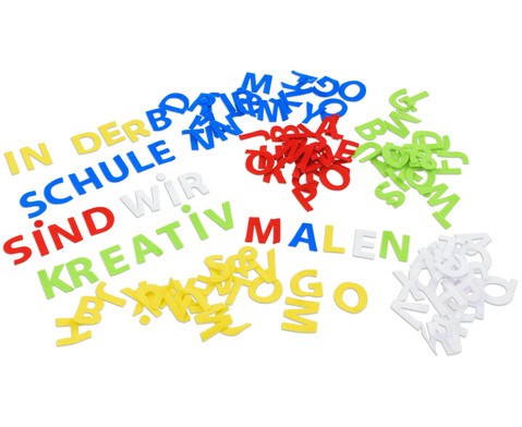 Filz-Buchstaben selbstklebend 150 Stueck
