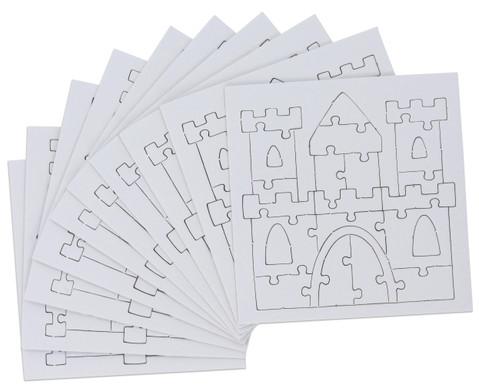 Puzzle zum Ausmalen 10er Set-3