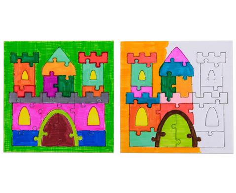 Puzzle zum Ausmalen 10er Set-4