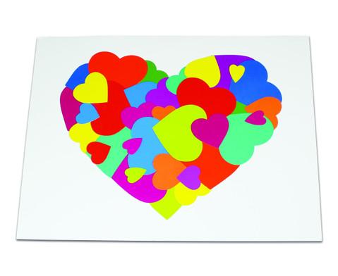 Herzen aus Papier 2000 Teile-3