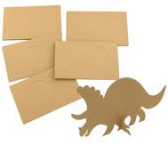 Papp-Dinosaurier, 25 Stück
