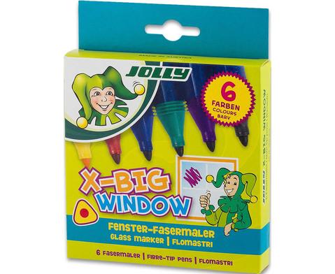 Fenster Filzstifte 6 Stueck-2