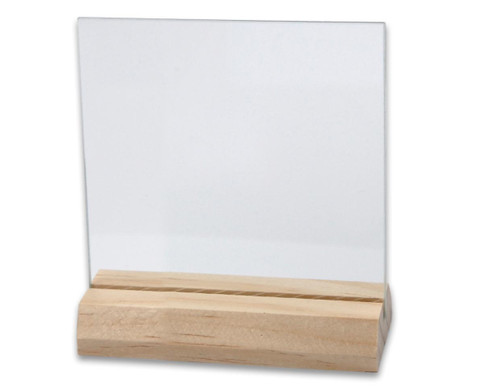 Glasplatten und Halter 10 Stueck-3